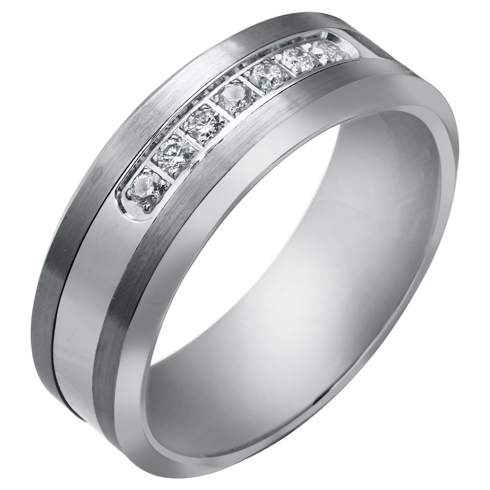 Tungsten rings for women