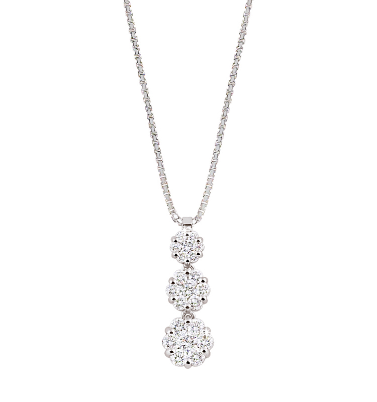 Diamond Necklace Sf Buy An Elegant Statement Diamond